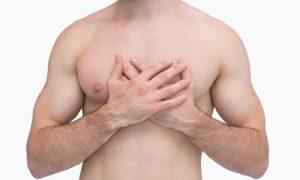 redução dos seios masculinos