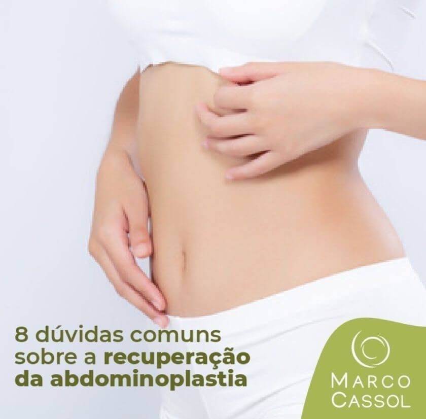 barriga sarada com Abdominoplastia