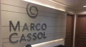recepção da clínica marco cassol