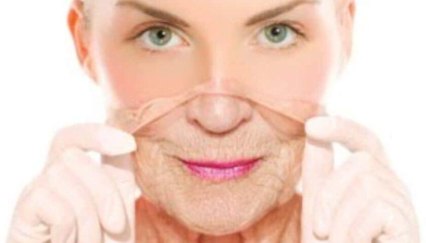paciente pele escamando após peeling facial